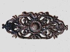 (n°1)  Ancienne grille en fonte de lit /  44 / 18 cm / vintage