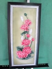 Silk ribbon embroidery 'Flower's fantasy 3 '