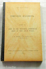 New South Wales Forestry Handbook Some Principal Commercial Trees 1917 Maiden HC