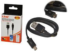 CAVO CONNETTORE USB DATI PER SAMSUNG GALAXY S S2 S3 S4 NOTE LINQ S3-200 mshop