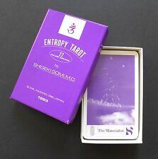 Vintage Entropy Tarot Cards Deck Dr. Shigeki Gomi Cards Limited Ed. 300 (1983)