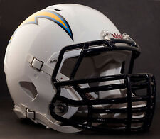 SAN DIEGO CHARGERS NFL Riddell SPEED Football Helmet with BIG GRILL S2BDC-HT-LW