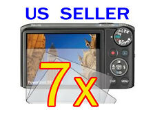 7x Canon PowerShot SX260 HS Camera LCD Screen Protector Cover Guard Shield Film