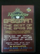 Hysteria Best of Bassman Vol 2 Oldskool classic drum n bass / jungle 6 x CD pack