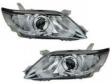 Pair of Headlights Toyota Camry 07/09-09/11 New 40s Altise Ateva Grande 11 Lamps