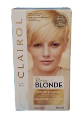 (3)  CLAIROL Born BLONDE ULTIMATE BLENDING Bleach Blonde Hair Color (NEW)