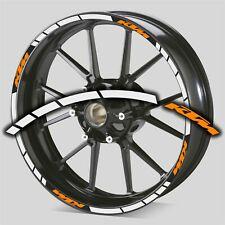KIT VINILO ADHESIVO PEGATINA STICKER DECAL AUFKLEBER KTM LLANTA WHEEL MOTO
