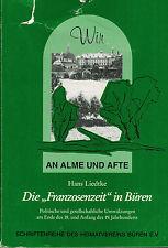 Liedtke, i francesi tempo i Büren, sconvolgimenti del 1800, noi a prescri e afte, 1997