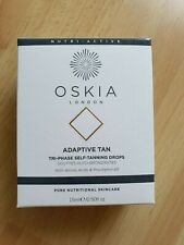 Oskia London Adaptive Tan Tri-Phase Self-Tanning Drops 15ml BNIB