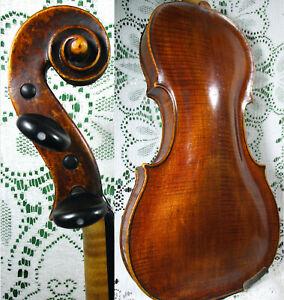 Fine Stunning Old Johann Georg Böck 1808 Master Violin 4/4 Grafted Neck *Video!