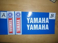 Yamaha trials fork decals choose from x2 types