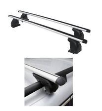 Barre portatutto alluminio AMC + kit x Bmw X1 E84 5p. 10/09>9/15 con profili int
