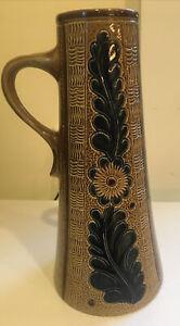 Marzi-Remy Vase 3176/22 beer stein Brown Floral