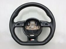AUDI A1 A3 S3 A4 A5 A6 S6 S LINE FLAT BOTTOM MULTIFUNCTION STEERING WHEEL