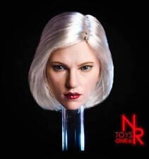 "1/6 Scale Black widow 6.0 Natasha Female Head Sculpt F12"" Action Figure Body"