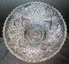 """Antique Imperial Royalty Punch Bowl Hard to Find Crown Design 12"""" Across"""