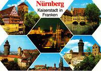 Nürnberg , Kaiserstadt in Franken ,ungelaufene AK