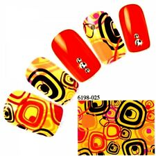 Glitzer Nail-Art in Orange