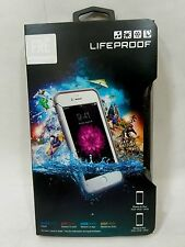 LifeProof FRE Waterproof Case for iPhone 6 Plus & iPhone 6s Plus White/Gray NEW