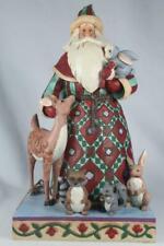 Jim Shore 'Santa's Creature Comforts' Santa Figurine With Animals #4060146 New