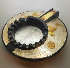 "Superb 1950's ""The Executive Ashtray"" Made from Bakelite Globe Design"
