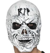 Halloween Fancy Dress RIP Grim Reaper Head Mask Foam Latex Mask by Smiffys New