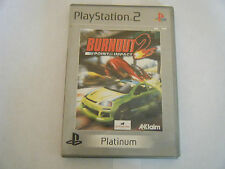 Burnout 2 - Sony PlayStation 2 - Sans Notice - Occasion - PAL