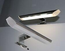 LED Badleuchte Aufbauleuchte Chrom TOP Spiegelleuchte Schrankleuchte Art. LOOK-6