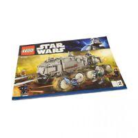1x Lego Bauanleitung A4 Heft2 Star Wars Clone Turbo Panzer Fahrzeug 8098