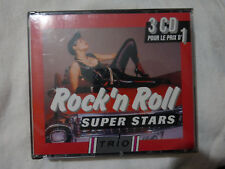 rock'n roll super stars-trio-bill haley-little richard-jerry lee lewis- 3 CD