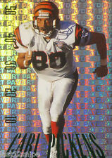 Carl Pickens 1995 Skybox Premium Paydirt Colors Green Foil Variation #PD20 RARE!