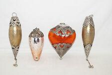Glasherz Glaszapfen vintage Hänger Deko aufhängen