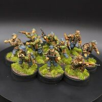 Pro Painted 28mm Bolt Action German Waffen SS Squad ×10 warlord games ww2