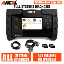 All System Scanner OBD2 Code Reader ABS SRS Transmission Oil EPB Fault Diagnosis