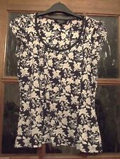 Dorothy Perkins Floral Cotton Short Sleeve Women's Tops & Shirts