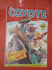 EL COYOTE DI J.MALLORQUI N° 176 DARDO 1958 -RARO ROMANZO COLLANA DEL COYOTE