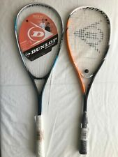 2-NEW Dunlop Squash Rackets/racquets---Flux 40 and Biotec xtreme Ti