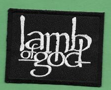 "New Lamb of God  2 X 2 3/4 ""  Inch Iron on Patch Free Shipping"