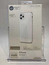 Authentic Moshi iGlaze Slim Hardshell Case-Apple iPhone 11 Pro Max (Pearl White)