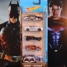 Hot Wheels BATMAN v SUPERMAN 5 Auto-Set DJD23 *NEU&OVP*  *Rarität! *lesen!*