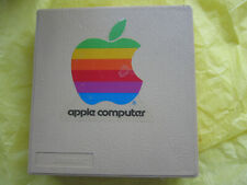 Vintage Apple Floppy disc case with 7 datalife Discs