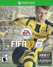 NEW FIFA 17 (Microsoft Xbox One XB1, 2016) FACTORY SEALED FAST SHIP REGION FREE