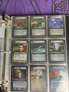 Star Trek CCG Strange New Worlds Near Complete Archive Foil Set NM 17/18 Cards