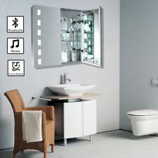 LED Wall Cabinet Minimalist Bathroom Mirror Light | BLUETOOTH | DEMISTER |SHAVER