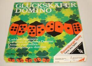 Glückskäfer Domino von Ravensburger Ausgabe von 1970 KULT