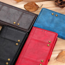 For Sony Xperia 20 Sharp AQUOS R2 Zero SENSE 3 PU Leather Flip Wallet Case Cover