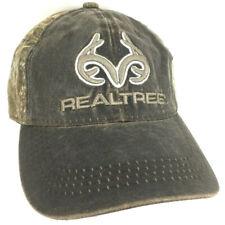RealTree Hat Logo Camo Cap Woodland Camouflage Hunting Fishing Baseball Trucker