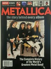 Music Icons Collector's Metallica Story Behind Every Album FREE SHIPPING sb