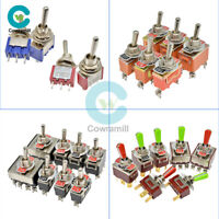 1/5/10PCS Mini Toggle Switch MTS-102/103/202/203 E-TEN 2/3/4/6/9/12Pin 6mm/12mm
