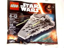 Lego Star Wars FIRST ORDER STAR DESTROYER 30277 Force Awakens Polybag NEW SEALED